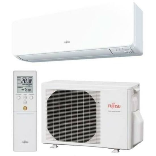 Fujitsu Standard ASYG12KMTA/AOYG12KMTA Inverteres Split klíma csomag 3,5 kW
