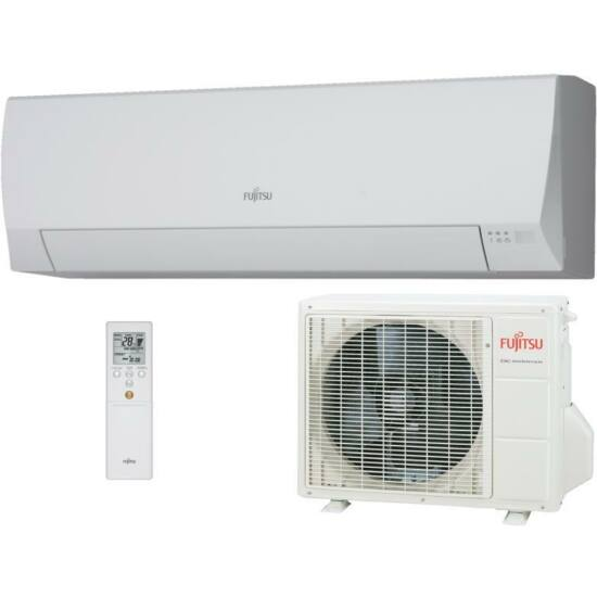 Fujitsu Eco ASYG09LLCE/AOYG09LLCE Inverteres Split klíma csomag 2,5 kW