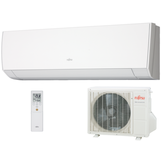 Fujitsu Compact ASYG07LMCA/AOYG07LMCA Inverteres Split klíma csomag 2 kW