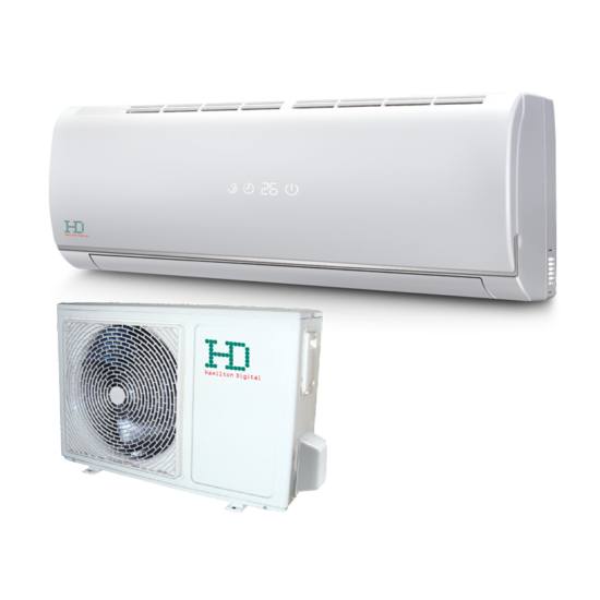 HD HDWI-125C/HDOI-125C Maximus 3.5 kW -os oldalfali split klíma csomag