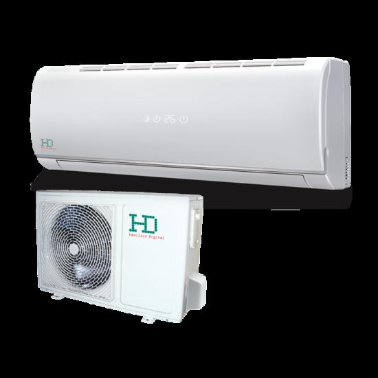 HD HDWI-124C/HDOI-124C Maximus 3.5 kW -os oldalfali split klíma csomag