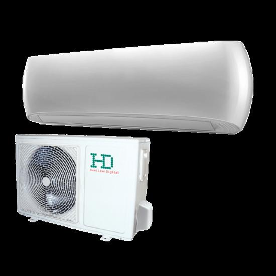 HD HDWI-DSGN-120C-WHITE/HDOI-DSGN-120C Desing 3,5 kW -os oldalfali split klíma csomag