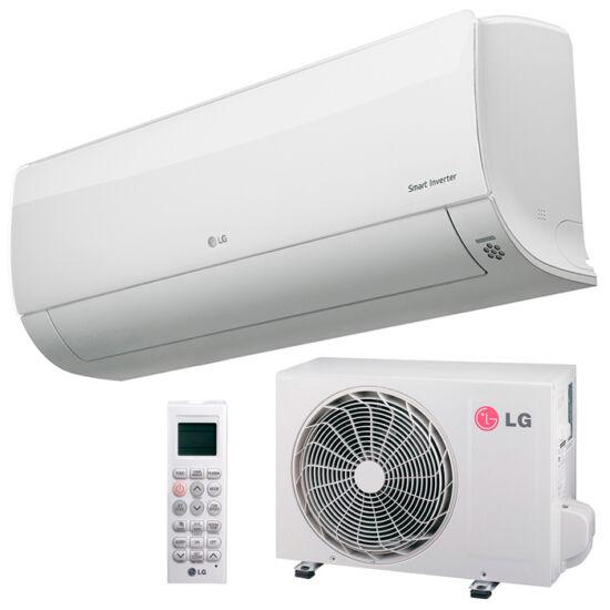 LG DM09RP Deluxe 2,6 kW-os inverteres split klíma csomag, beépített Wi-Fi