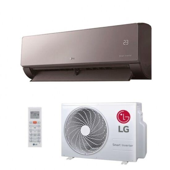 LG AM09BP ART COOL  2,6 kW-os inverteres split klíma csomag, beépített Wi-Fi