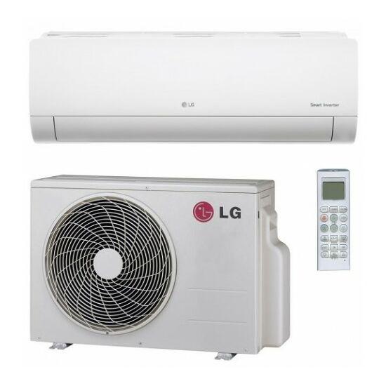 LG PM12SP Silence Plus 3,5 kW-os inverteres split klíma csomag, beépített Wi-Fi