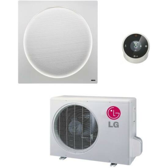 LG G09WL Art Cool Stylist 2,6 kW-os Inverteres split klíma csomag