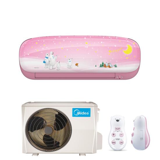Midea Kids Lány MSEABU-09HRFN1-QRD0G-PI inverteres split klíma csomag 2,6 kW