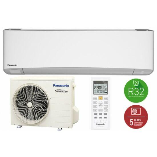Panasonic Z Etherea Z12SKE Inverter plus Fehér split klíma csomag 3,5 kW R32