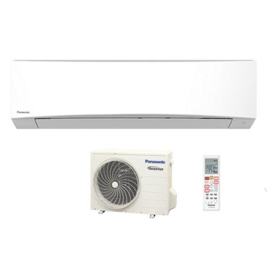 Panasonic TZ25TKE Inverter FEHÉR split klíma csomag 2,5 kW R32-es hűtőközeg