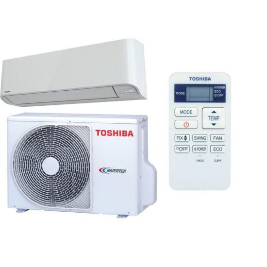 "Toshiba RAS-10BKV-E/RAS-10BAV-E MIRAI ""CLASSIC"" MODEL Oldalfali Split klíma csomag 2,5 kW"