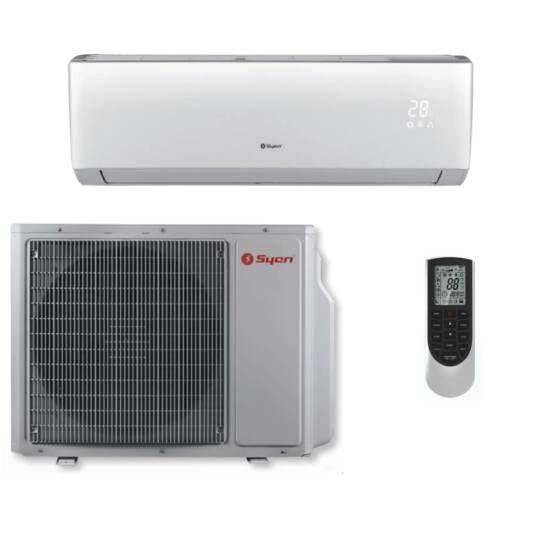 Syen City SOH09LO-E10DB2D  Inverteres Split klíma csomag 2,5 kW