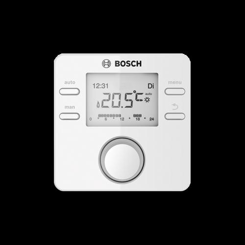 Bosch CR100 RF+MB RF vezeték nélküli szobatermosztát és jeltovábbító modul