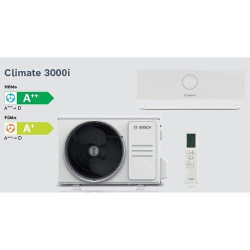 Bosch Climate 3000i CL3000i26E Inverteres Split klíma csomag 2,6 kW