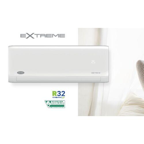Carrier Extreme 42QHG024D8SX/38QHG024D8SX Inverteres oldalfali split klíma csomag 7 kW