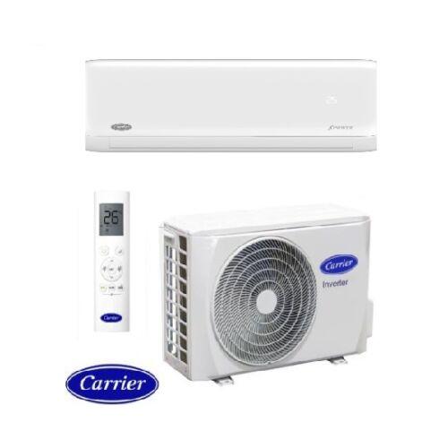 Carrier XPower 42QHG012D8SH/38QHG012D8SH Inverteres oldalfali split klíma csomag 3,5 kW
