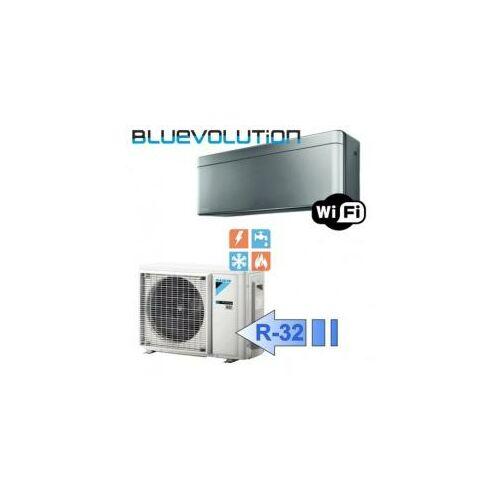 Daikin FTXA42BS/RXA42B Stylish 4,2 kW-os oldalfali split klíma csomag szürke