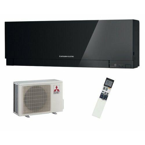 Mitsubishi MSZ/MUZ-EF25VGKB Zen Inverteres Prémium oldalfali split klíma csomag 2,5 kW (fekete)
