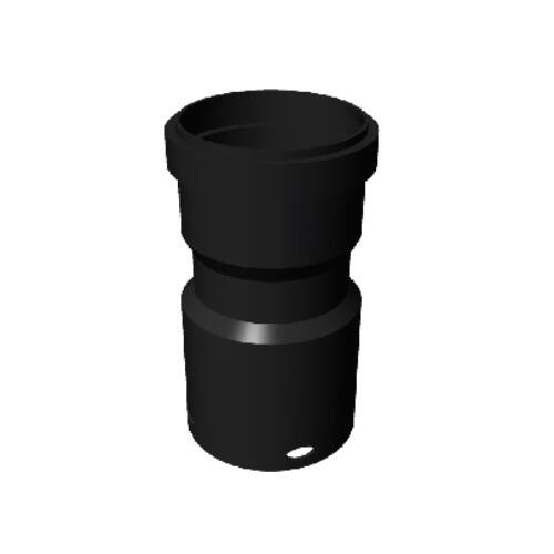 Ricom Gas Vég Adapter NÁ125 flexibilis / NÁ125 merev csőhöz