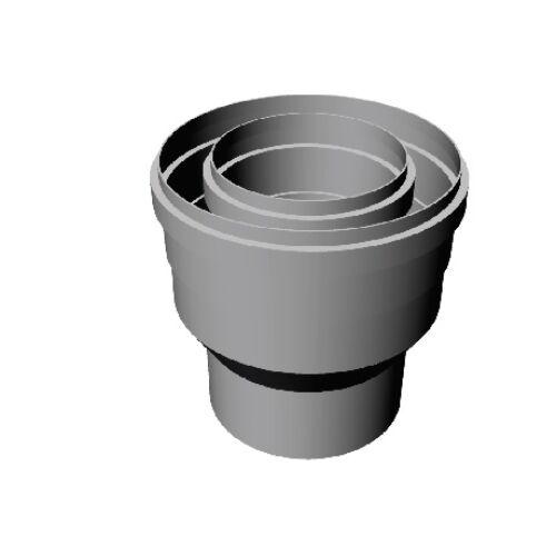 Ricomgas NÁ60/100 PPS-Alu bővítő idom