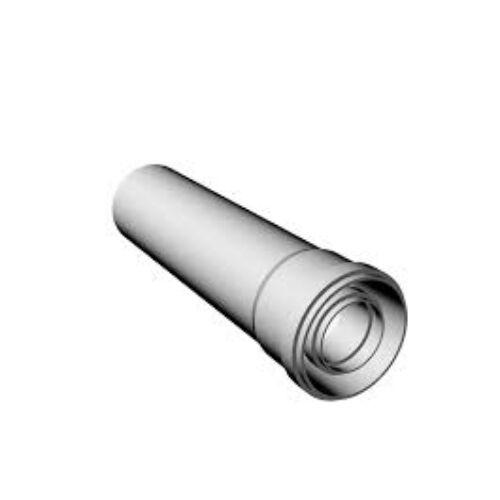 Ricom gas PPS/Alu Ø 80/125 mm-es, 1m-es toldócső