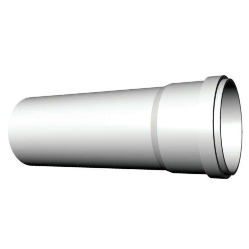 Ricom gas PPs műanyag Ø 125 mm-es, 0,5m-es toldócső