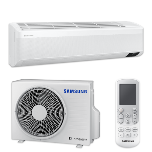 Samsung Wind-Free Elite AR12TXCAAWKN/XEU split klíma csomag 3.5 kW
