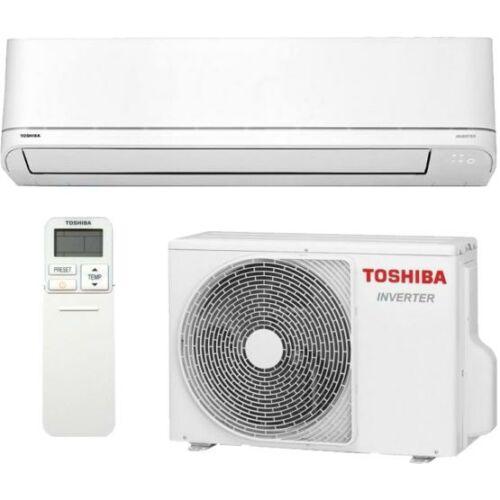 Toshiba Suzumi Plus RAS-B22PKVSG-E / RAS-22PAVSG-E Oldalfali Inverteres Split Klíma csomag 6,1 kW