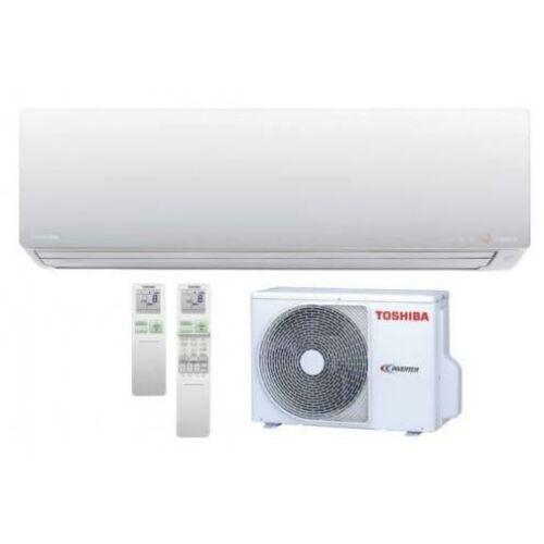 Toshiba Super Daiseikai 9 Premium RAS-10PKVPG-E/RAS-10PAVPG-E Oldalfali Inverteres Split Klíma csomag 2,5 kW