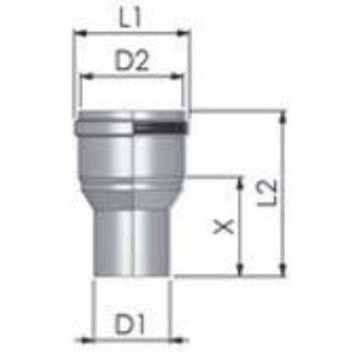 Tricox PPs bővítő 125-160