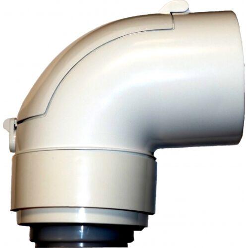 Tricox PPs/Alu ellenőrző könyök 60/100 mm 87°