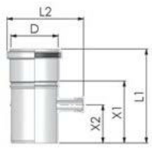 Tricox PPs mérőpont 60mm
