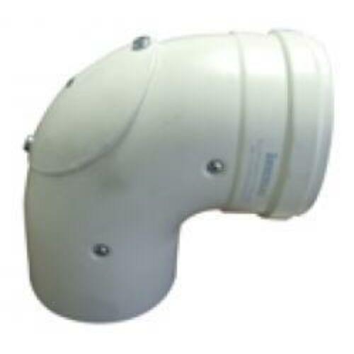 immergas Ø 80/125 mm-es, könyök idom nyitható vizsgáló nyílással