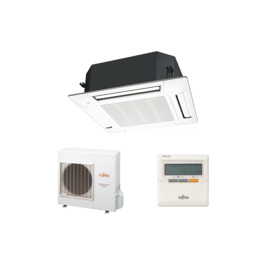 Fujitsu AUYG30LRLE/AOYG30LETL kazettás split klíma csomag 8,5 kW