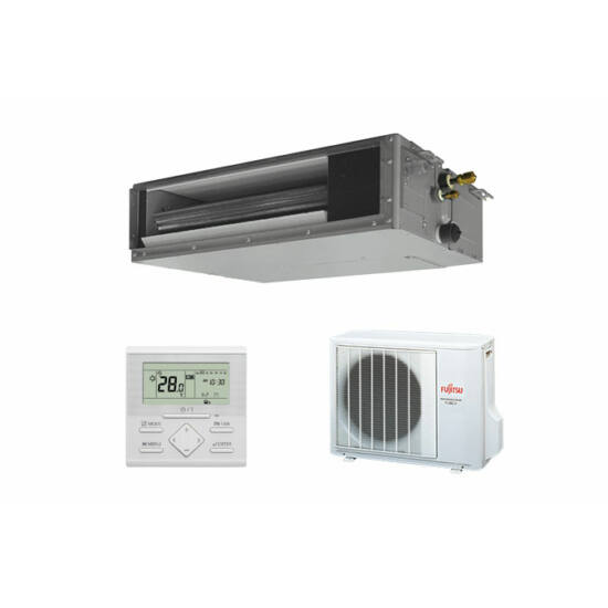 Fujitsu ARYG12LSLAP/AOYG12LALL légcsatornázható klíma berendezés 3,5 kW