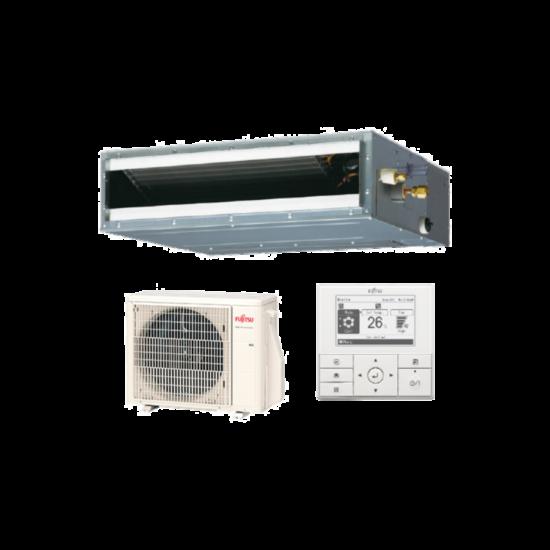 Fujitsu Eco ARXG09KLLAP/AOYG09KATA légcsatornázható klíma berendezés 2,5 kW