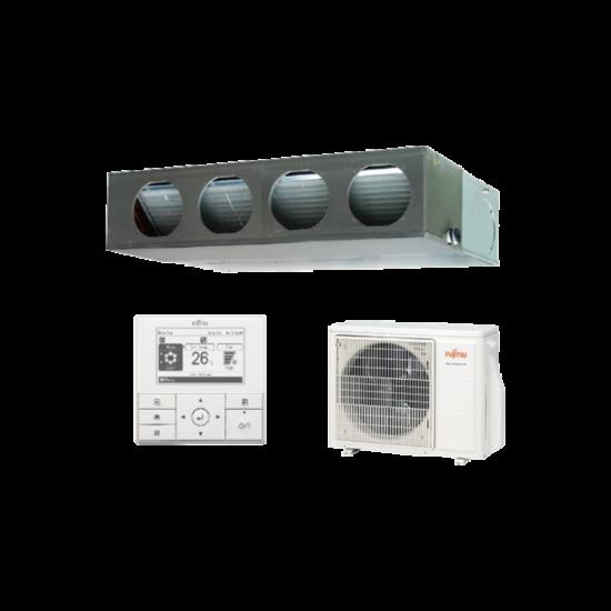 Fujitsu Standard ARXG22KMLA/AOYG22KBTB légcsatornázható klíma berendezés 6 kW