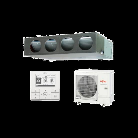 Fujitsu Standard ARXG36KMLA/AOYG36KBTB légcsatornázható klíma berendezés 9,5 kW