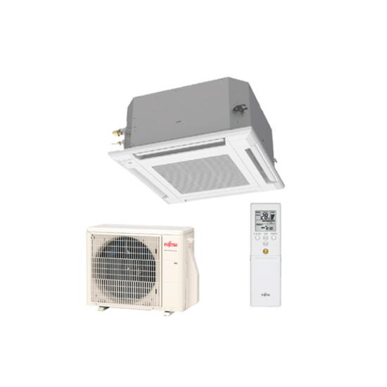 Fujitsu Standard AUXG24KVLA/AOYG24KBTB kazettás split klíma csomag 6,8 kW