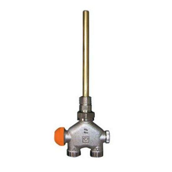 Herz VUA-40 termosztatikus szelep 100% egyenes