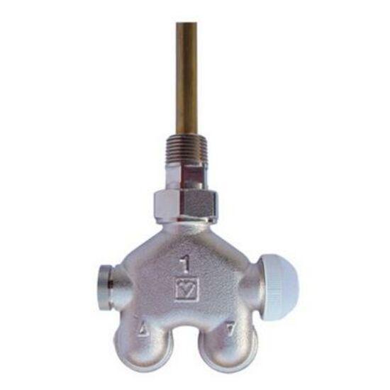 Herz VUA-40 termosztatikus szelep 50% sarok