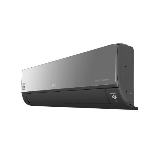 LG AC24BQ ART COOL Mirror 7,1 kW-os inverteres split klíma csomag, beépített Wi-Fi