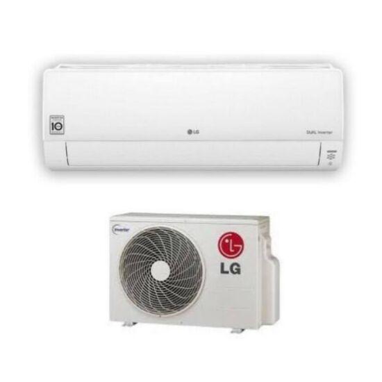 LG Silence 2 S09ET Oldalfali Inverteres Split klíma csomag 2,6 kW