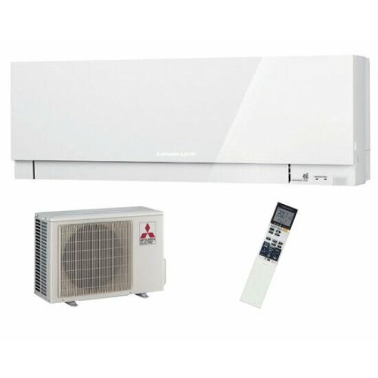 Mitsubishi MSZ/MUZ-EF25VGW Kirigamine Zen Inverteres Prémium oldalfali split klíma csomag 2,5 kW (fehér)
