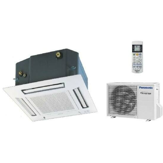 Panasonic KIT-Z35-UB4 kazettás split klíma csomag 3.5 kW