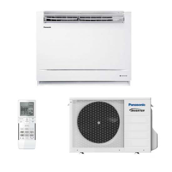Panasonic KIT-Z25-UFE Parapet/padlón álló split klíma csomag 2.5 kW
