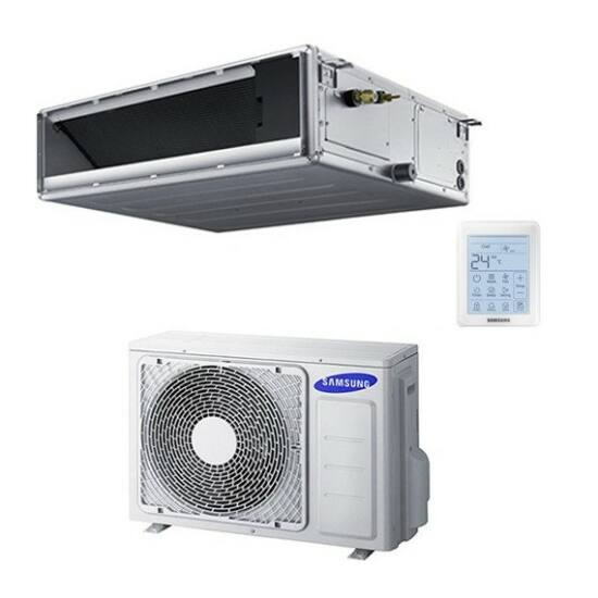Samsung Deluxe MSP AC071MNMDKH/AC071MXADKH/EU Légcsatornázható Split Klíma csomag 7,1 kW