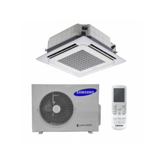 Samsung Wind-Free mini AC026MXADKH/AC026NNNDKH/EU 4-utas Kazettás Split Klíma csomag 2,6 kW