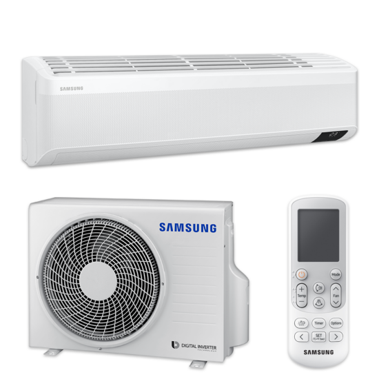 Samsung Wind-Free Comfort AR18TXFCAWKNEU/XEU split klíma csomag 5.0 kW
