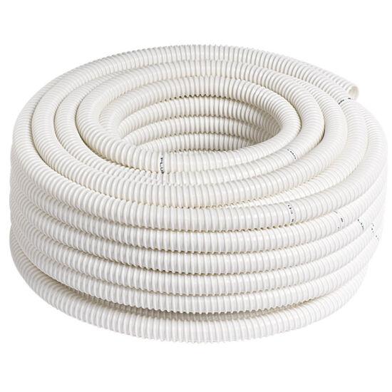 Spirál cső PVC 30fm/tekercs (fehér) 16 mm