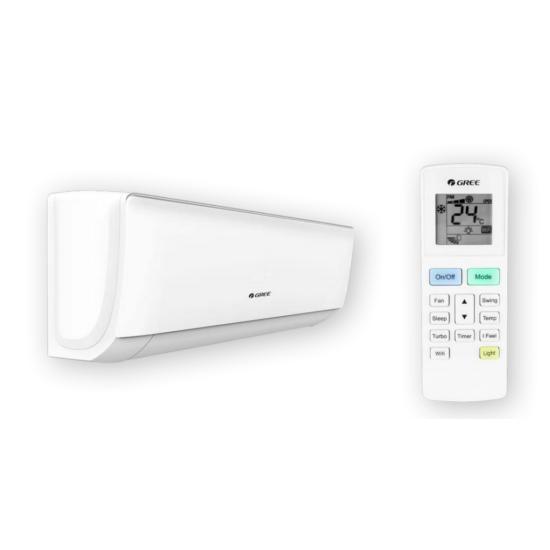Gree Home GWH09AAB-K6DNA1B oldalfali split klíma csomag 2.5 kW